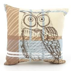Would love a pai of these, only each :-D Woodland Retreat Check Owl Cushion Cute Cushions, Bolster Cushions, Printed Cushions, Scatter Cushions, Throw Pillows, Stag Cushion, Woodland Bedroom, My Home Design, Cushion Filling