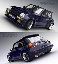 Renault 5 Turbo 2 - Faster than the 911 of the day. Pretty rare in the UK, but oddly a guy six houses down from me, in Portland Oregon, has one....K