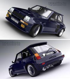 Renault 5 Turbo!!! plus forte que la 205 T16...