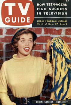 TV Guide with Lugene Sanders (Babs Riley), The Life of Riley 1953