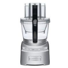 $219 CDN clearance… Cuisinart 12-Cup 1000-Watt Stainless Steel 3-Blade Food Processor (FP-12DCC)  2 Integrated Bowls: 1000 watts
