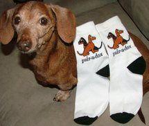 Pair-a-Dox Dachshund Socks