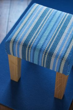 871c15f87c4 Chatham Blue Stool - Furniture from Roger Oates Stool