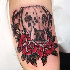 giuseppemorello - dog portrait tattoo