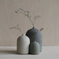 Some of the beautiful news by Australian that just landed in the store. Trying to get all the new beautiful ceramics from… Flower Vases, Flower Arrangements, Bud Vases, Vases Decor, Plant Decor, Ikebana, Ceramic Pottery, Ceramic Art, Interior Styling