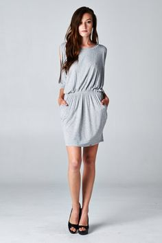 cute casual dress.  could dress up or down