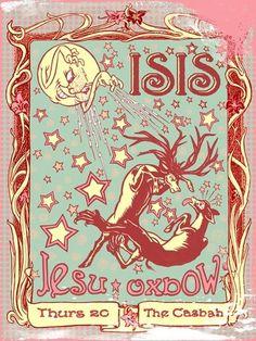 #Isis #DarrenGrealish #GigPosters