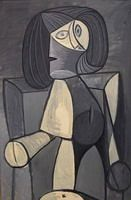 Pablo Picasso. Woman in gray, 1942