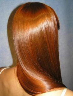Get Shiny Hair At Home!