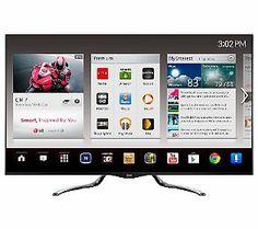 LG 55 Diag. 1080p LED 240Hz 3D Google Smart HDTV