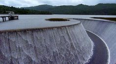 Why is that not mentioned in any guidebook? Lower Nihotupu dam in West Auckland, by Sandy Austin