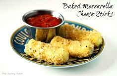 Easy Baked Mozzarella Cheese Sticks Recipe
