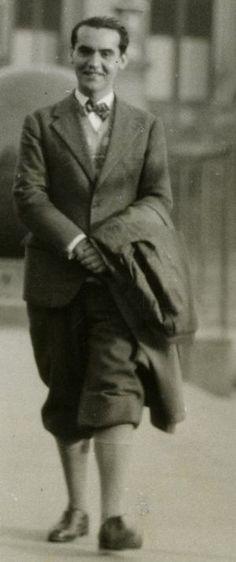 Lorca, en la universidad de Columbia, en 1929. / FUNDACIÓN GARCÍA LORCA