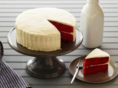 Get Fabulous Red Velvet Cake Recipe from Food Network