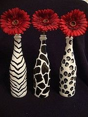 Safari and Red Daisies