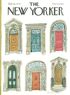 The New Yorker - Monday, July 16, 1979 - Issue # 2839 - Vol. 55 - N° 22 - Cover by : Laura Jean Allen