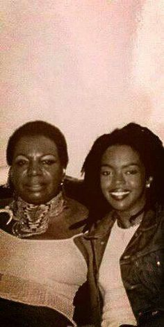 Lauryn Hill and Nina Simone