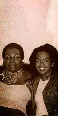 Lauryn Hill and Nina Simone