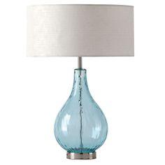 Shiraleah - Lucy Table Lamp in Aqua - NewlyWish