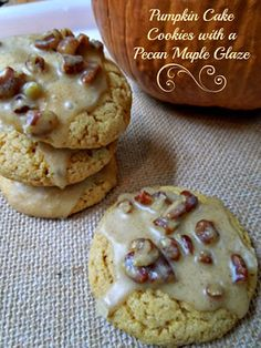 These are the yummiest cookies I have ever made! Miss Information Blog #cookies #Pumpkin #dessert