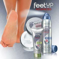 #Feetup de Oriflame Una línea avanzada con todo lo que tus pies necesitan para mantenerse saludables.