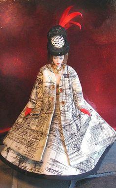 Mdvanii, Outfit in Bernard Buffet Fabric