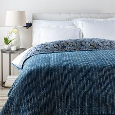 New bedding collections from Surya were introduced at High Point Market this fall.
