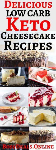 If you are looking for some low carb keto cheesecake dessert recipes, that's deliciously mouth watering. Then you are reading the right article! In this article you will fine some low carb keto cheesecake dessert recipes that will make you fall in love with Low carb ketogenic cheesecakes.- Delicious Low Carb Keto Cheesecake Recipes - #Cream Cheeses #Gluten Free #DessertRecipes #AlmondFlour #ketogenicdiet #keto #food #ketorecipes #ketogenic #ketodiet #Recipes #Keto Low Carb Keto...