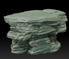 Rawk - Post any rocks you make here! - Page 10 - Polycount Forum: Zbrush Environment, Game Textures, Background Diy, Prop Design, Environmental Art, Fantasy Landscape, Stone Art, Rock Art, Art Tutorials