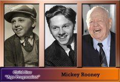 Mickey Rooney . . Born: September 23, 1920..  Brooklyn, NY