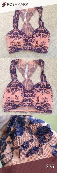 Free People Like new not sure it's ever been worn, I purchased on here unfortunately buyer had posted it as wrong size. Size XS. Free People Intimates & Sleepwear Bras