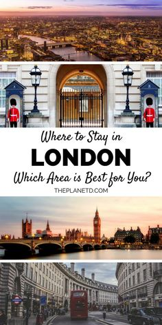 Where to stay in London, England: A detailed neighborhood guide. Stay in Westminster with Big Ben and Buckingham palace, two of the cities most popular photography spots. Camden offers hotels, shopping, and many attractions. SoHo features fashion, history, and a culinary food scene. Travel in the United Kindom. | Blog by the Planet D #London #England #UK #UnitedKingdom #Europe #Travel #TravelTips #TravelGuide #BucketList #Wanderlust