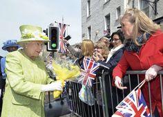 How Britain is celebrating Queen Elizabeth's 90th birthday #inewsphoto