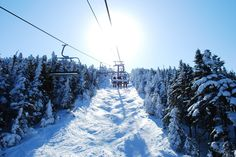 Saddleback Mtn, ME- Have not skied there, but riding the chairlift is universal.