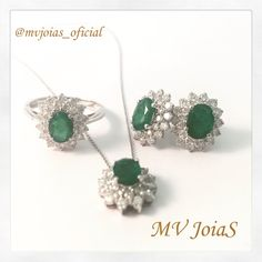 Como não amar??  www.mvjoias.com.br #esmeralda #diamante #ourobranco #brinco #anel #pingente #corrente #conjunto #gold #diamonds #diamond #ring #earring #pendant #shopping #fashion #jewelry #instafashion #fashionpost #instastyle #fashiongram #model #instagood #instastyle #fashionpost #LookForTheNight #lookofthenight #joias #joia