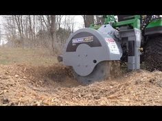 Tractor Time With Tim tries out the new Baumalight Stump Blaster Stump Grinder. Small Tractors, Compact Tractors, Compact Tractor Attachments, John Deere Garden Tractors, Stump Grinder, Tractor Accessories, Cattle Panels, Kubota Tractors, Tractor Implements