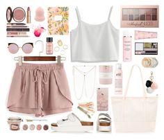 """""""I know once you come to California you would never look back"""" by povring on Polyvore featuring Chicwish, Topshop, Christian Dior, Fendi, GUESS, Tory Burch, Charlotte Tilbury, Terre Mère, Maybelline and Odeme"""