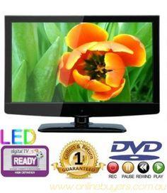 CONIA 22' Full HD LED LCD TV+DVD Digital Super Slim 12V