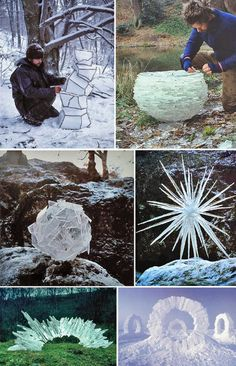 Andy-Goldsworthy Abstract Sculpture, Sculpture Art, Metal Sculptures, Bronze Sculpture, Andy Goldworthy, Andy Goldsworthy Art, Ephemeral Art, Art Assignments, Art Themes