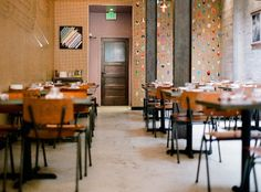 l e a h r o s e n b e r g : p r o j e c t s : COLOR COORDINATIONS at State Bird Provisions