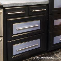 Have a kitchen cabinet with shelves that are disorganized and hard to reach? Make it work with our instructions on how to convert shelves to drawers.