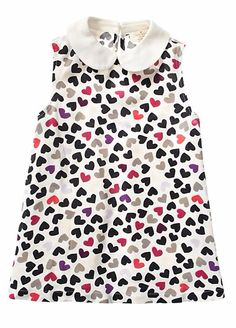 girly scattered hearts
