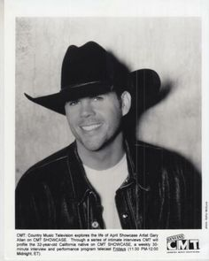 Photo is in very good condition. Photo size: 8 x Get Supersized Images & Free Image Hosting. Gary Burton, Gary Allan, Cowboy Hats, Mood, Celebrities, Music, Ebay, Musica, Western Hats