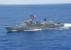 Almirante Riveros (FFG-18)  La Almirante Riveros (FFG-18) es una de las dos fragatas clase Karel Doorman adquiridas por la Armada de Chile a la Koninklijke Marine