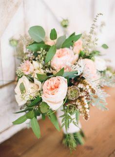 #Bouquet | #Pink | See the Wedding on #SMP Weddings - http://www.stylemepretty.com/2013/12/10/malibu-vineyard-wedding | Leila Brewster Photography