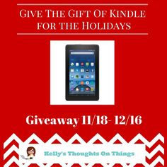 Kindle Fire #Giveaway. ENDS 12/16. US. via @dorkysdeals #win