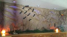 VBS cave wall