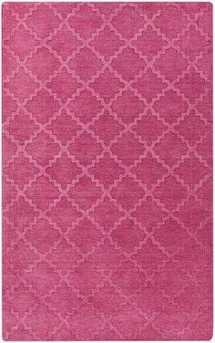 surya etching etc4965 hot pink area rug