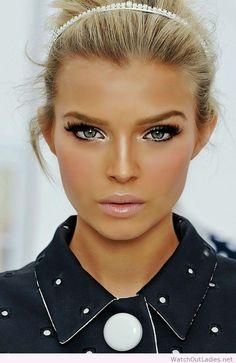 Gorgeous summer makeup idea