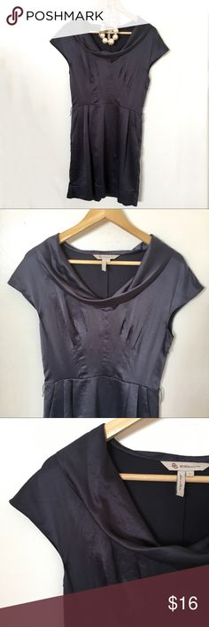 """BCBGeneration Dress / Blue, Grey / S / Mid Length 💍 Gorgeous BCBGeneration Dress / Perfect for a Special Event / Cowl Neck and Pockets / Size S / 17"""" Bust x 13"""" Waist x 33"""" Long / 100% Polyester / Dry Clean Only BCBGeneration Dresses Midi"""